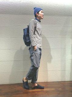 高野│SHIPSのTシャツ・カットソーコーディネート
