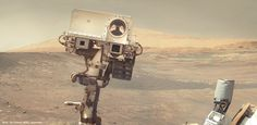 I cannot help but think that the Curiosity rover selfie from Mars was really cute. Aurora, Curiosity Rover, World Pictures, 4 Photos, Outer Space, Solar System, Weird, Jokes, Around The Worlds
