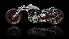The Chicara Art One is the first motorbike of Chicara Nagata's unique series