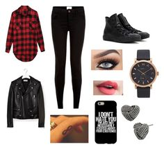 """""""Going out for brunch?"""" by elaabad on Polyvore featuring Converse, Marc Jacobs, Yves Saint Laurent and Betsey Johnson"""
