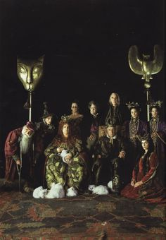Gormenghast,  A total fave of mine. Great BBC series and an amazing novel by Maervin Peake...