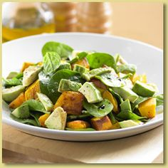 Avocado and Pumpkin Salad Recipe - Avocados Australia