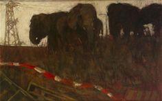 The elephants, the elephants by Elizabeth Comerford