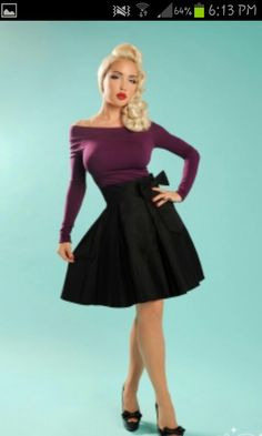Love this. From pin up girl clothing. She's one of my fav pin up models. Masumi max