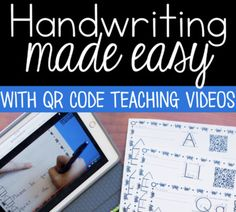 Handwriting Practice: Do you find teaching handwriting a daunting task? Do you sweep it under the rug because with all of the other demands of the classroom you just don't have time. Handwriting is important for little learners to build not only fine motor skills, but foundational reading skills.