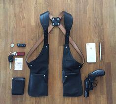 Perfect bag for each day! #bag #style #travel #gun #holster #suit #men #shirt #comfort