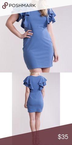 Ruffle Sleeves Dress Ruffle Sleeves Dress Plus Size Dresses Mini