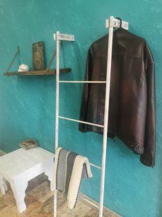 Ladder Hanger, Wedding Hangers, Clothes Hanger, Wardrobe Rack, Etsy, Furniture, Home Decor, Coat Hanger, Decoration Home