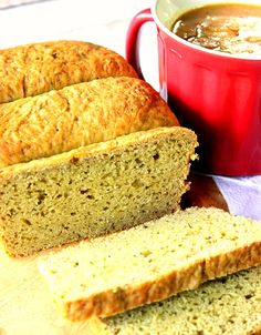 Delicious Avocado Yeast Bread with Cilantro is a wonderfully textured bread with a tender crumb and crust. - Kudos Kitchen by Renee