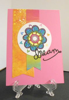 Colorful dream flower by Ginadapooh on Etsy