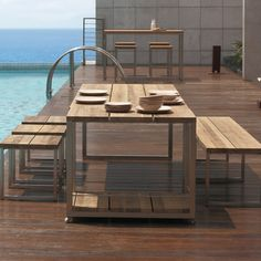 Mamagreen Oko Trolley Dining Table