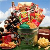 Football Fan Gift Basket | Gift for Football Party