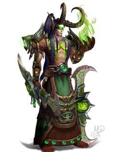 My third model rework of a Blood Elf Demon Hunter (Arkanthos Athalnarei) on Argent Dawn roleplay Server, World of Warcraft Athalnarei Fantasy Rpg, Dark Fantasy, Illidan Stormrage, World Of Warcraft Characters, Warcraft 3, Blood Elf, The Black Cauldron, Night Elf, Demon Hunter