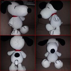 Receita Original: World of Amigurumi Crochet Barbie Patterns, Amigurumi Patterns, Crochet Dolls, Snoopy Amigurumi, Amigurumi Doll, Crochet Disney, Snoopy Love, Snoopy And Woodstock, Crochet Stars