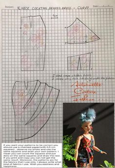 Fashion Dolls Couture - Unlimited: Colourful Autumn - Made to Move Barbie - CURVY Source by dress curvy Sewing Barbie Clothes, Barbie Sewing Patterns, Doll Dress Patterns, Sewing Dolls, Dolls Dolls, Clothing Patterns, Girl Dolls, Barbie Kleidungsmuster, Barbie Mode