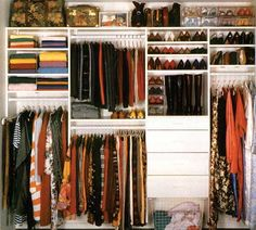 Designing a small closet organization system does not have to a terrible chore. Admittedly, with a small closet, space is […] Bedroom Closet Design, Master Bedroom Closet, Wardrobe Design, Closet Designs, Small Wardrobe, Bedroom Decor, Small Closets, Closet Ideas For Small Spaces, Bedroom Closets
