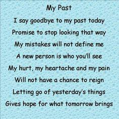 """My Past"" by Jenny Hall #prisonpoems #prison #poems #hope #mypast #god #faith"