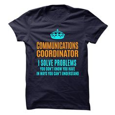 COMMUNICATIONS-COORDINATOR - Solve problems