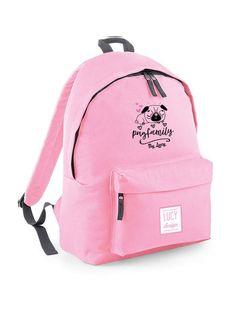 Pugs, Backpacks, Cool Stuff, Fashion, Moda, Fashion Styles, Backpack, Pug Dogs, Fashion Illustrations