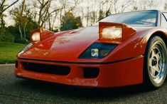 Ferrari F40, Vehicles, Car, Sports, Hs Sports, Automobile, Sport, Cars, Cars