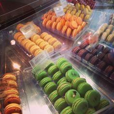 Macaron Cafe macarons