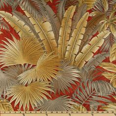Tommy Bahama Home Bahamian Breeze Nutmeg - Discount Designer . Colonial, Palm Tree Art, Drapery Fabric, Wall Fabric, Old Wallpaper, Tropical Design, Home Decor Shops, Amazon Art, Tommy Bahama
