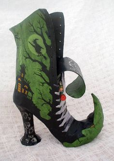 Halloween boot