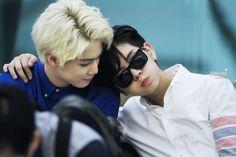 JR and Ren - Nu'est