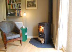 Cute corner stove