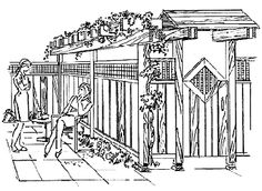 Privacy fence design. Love this need this for my gate.