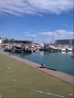 Puerto Deportivo en Benicarló, Valencia