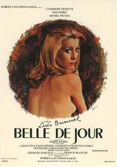 Belle de Jour, by Luis Bunuel with Catherine Deneuve # french movie # pelicula… French Movies, Old Movies, Vintage Movies, Films Cinema, Cinema Posters, Movie Posters, Concert Posters, Catherine Deneuve Films, Jean Sorel