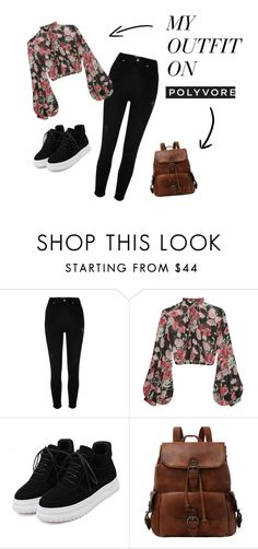"""""""Autumn vintage"""" by kamillalena04 on Polyvore featuring River Island, Jill Stuart and vintage"""