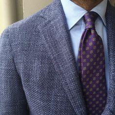 Men's Tie Inspiration #4   MenStyle1- Men's Style Blog