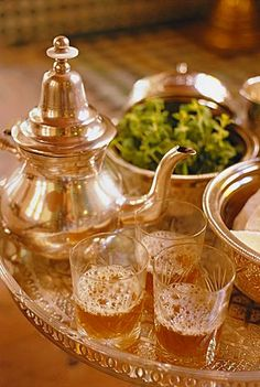 Mint tea, Marrakech, Morocco, North Africa   RePinned by : www.powercouplelife.com