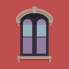 Windows of New York: Illustrated Series by José Guízar | Inspiration Grid | Design Inspiration