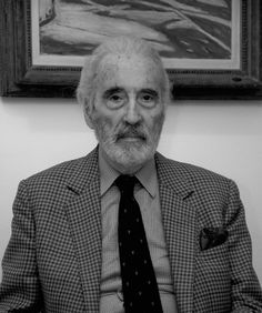 Christopher Lee: you wish you were as awesome as him. Dracula Film, Local Movies, Hobbit Films, Film Trilogies, Peter Cushing, My Kind Of Love, British People, Vincent Price, Star System