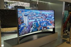Samsung's TV that bends