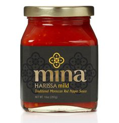 Moroccan inspired packaging – Mina Harissa