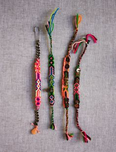 braided bracelets diy