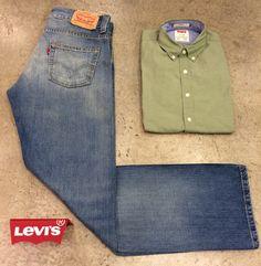 'mavi renk bir jean pantolon  ve hâkî renk bir gömlek ile hem şık hem rahat olma' formülünün özü: Levis ✅  #Levis jean ve gömleklerin kaynağı ise Kasaba❗️  #Levis #jean #jeans #kot #denim #erkekmodası #erkekmodasi #mensfashion #menfashion #fashion #moda #ilkbahar #spring #ilkbaharmodası #ilkbaharmodasi #springfashion