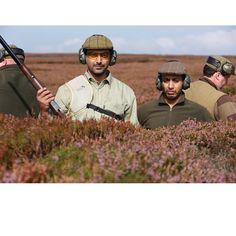 9/9/14 Yorkshire, England.  Sheikh Hamdan's annual grouse hunting trip.  PHOTO: alketbi71 with mmalhoof
