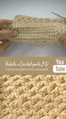 Puff Stitch Crochet, Crochet Chain, Thread Crochet, Love Crochet, Crochet Granny, Filet Crochet, Crochet Motif, Easy Crochet, Crochet Stitches