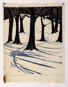 L. Thorpe, Australian printmaker, 1919-2009