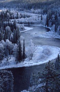 Beautiful Amazing World #nature #blue #winter