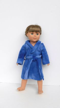 Doll Clothes Doll Blue Robe 18 Inch Boy or Girl Doll by DonnaDesigned https://www.etsy.com/listing/210172805/doll-clothes-doll-robe-18-inch-boy-or?ref=listing-shop-header-2