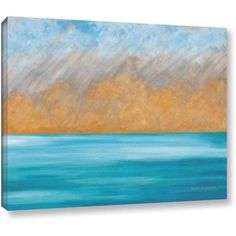 ArtWall Herb Dickinson Aloha Gallery-wrapped Canvas, Size: 36 x 48, Orange