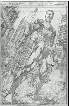 Aquaman pencils by Ivan Reis #aquaman #ivanreis