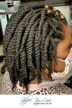 Natural Hair Braids, Natural Hair Updo, Natural Hair Styles, Two Strand Twist Hairstyles, Two Strand Twists, Hair Twist Styles, Curly Hair Styles, African Hairstyles For Kids, Kids Hairstyle
