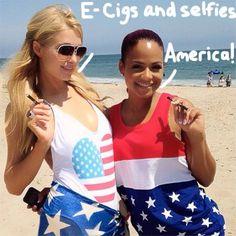 Paris Hilton & Christina Milian don similar monokinis for Malibu bash Celebrity Selfies, Celebrity Style, Christina Millian, Latest Hip Hop, Hip Hop News, Beach Attire, Gal Pal, Paris Hilton, American Singers